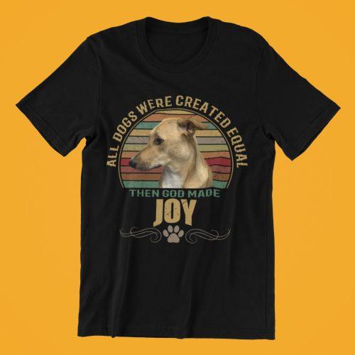 כל הכלבים נולדו שווים ואז אלוהים ברא את הכלב שלי (חולצת ילדים בעיצוב אישי) photo review