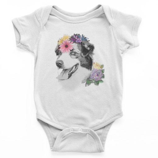 בגד גוף לתינוק עם הדפס מיוחד